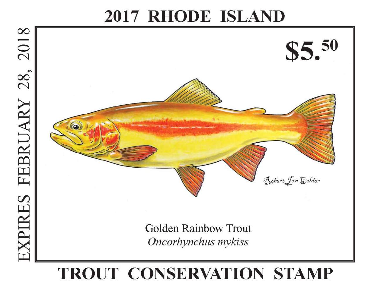 Trout Stamp 17