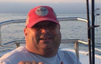 Big Dave Henault, owner of Ocean State Tackle
