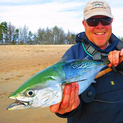 Pete Farrel, a guy with veins of saltwater and an eye for making time to go fishing.