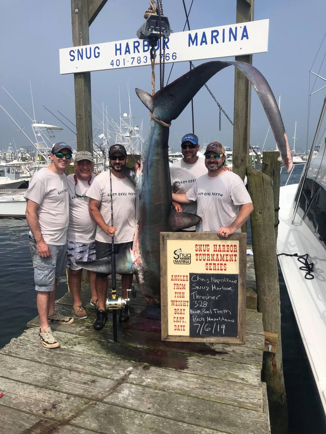 snug harbor shark tourney 2