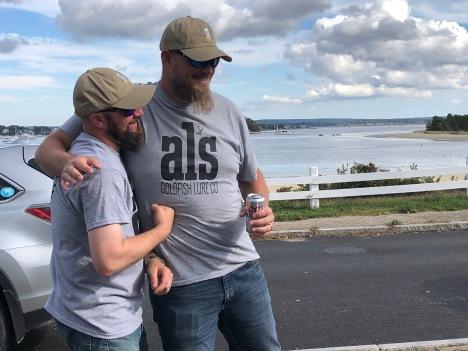 Good fishing, good friends